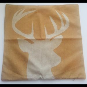 "Other - 💎Deer Canvas Burlap Pillow Case Cover 17"" x 17"""